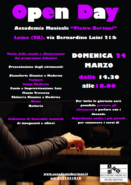Open Day marzo 2013